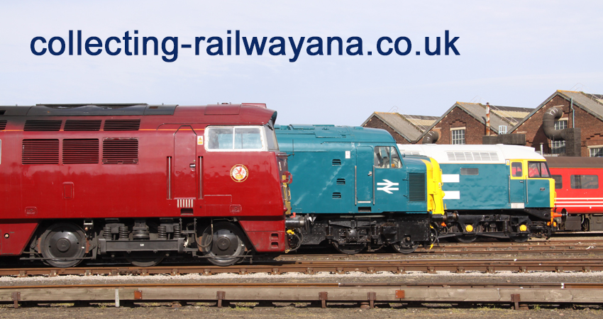 Collecting Railwayana